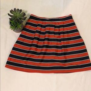 Adorable J.Crew striped skirt size 0